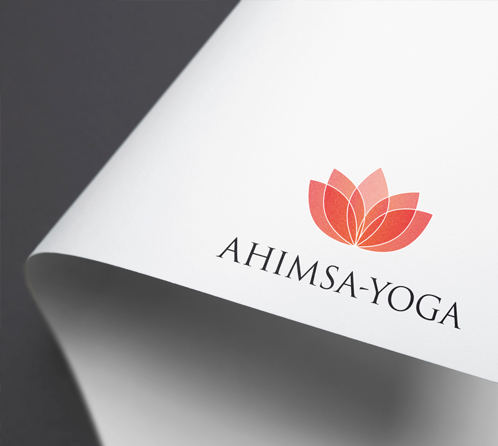 Ahimsa-Yoga – Grafikdesign