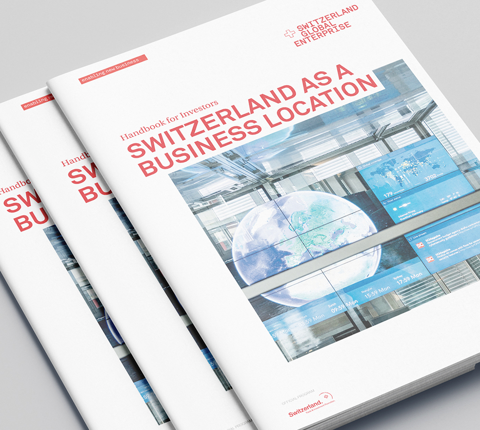 Switzerland Global Enterprise – Handbuch für Investoren